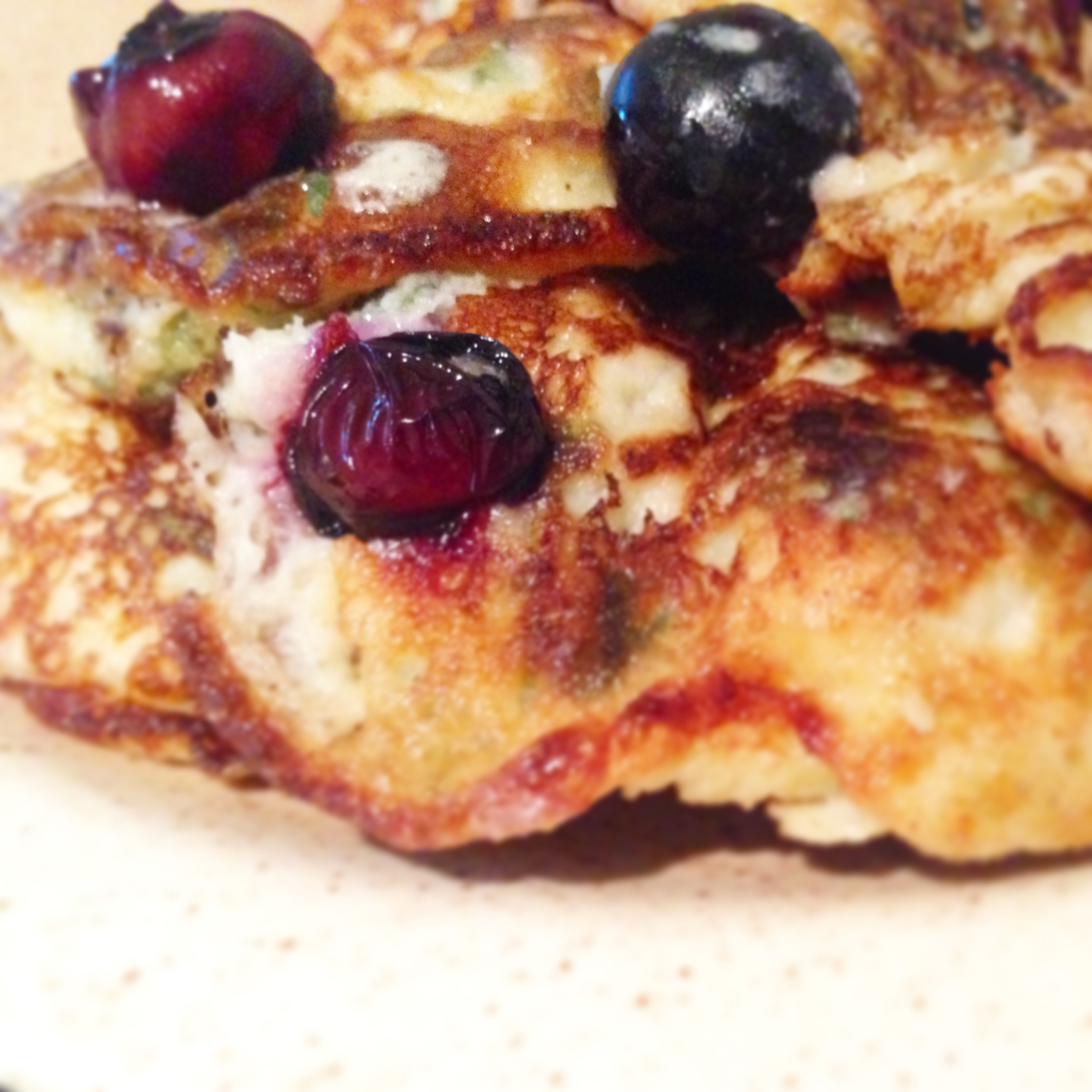 Nettle and Blueberry Pancakes Energya Ltd