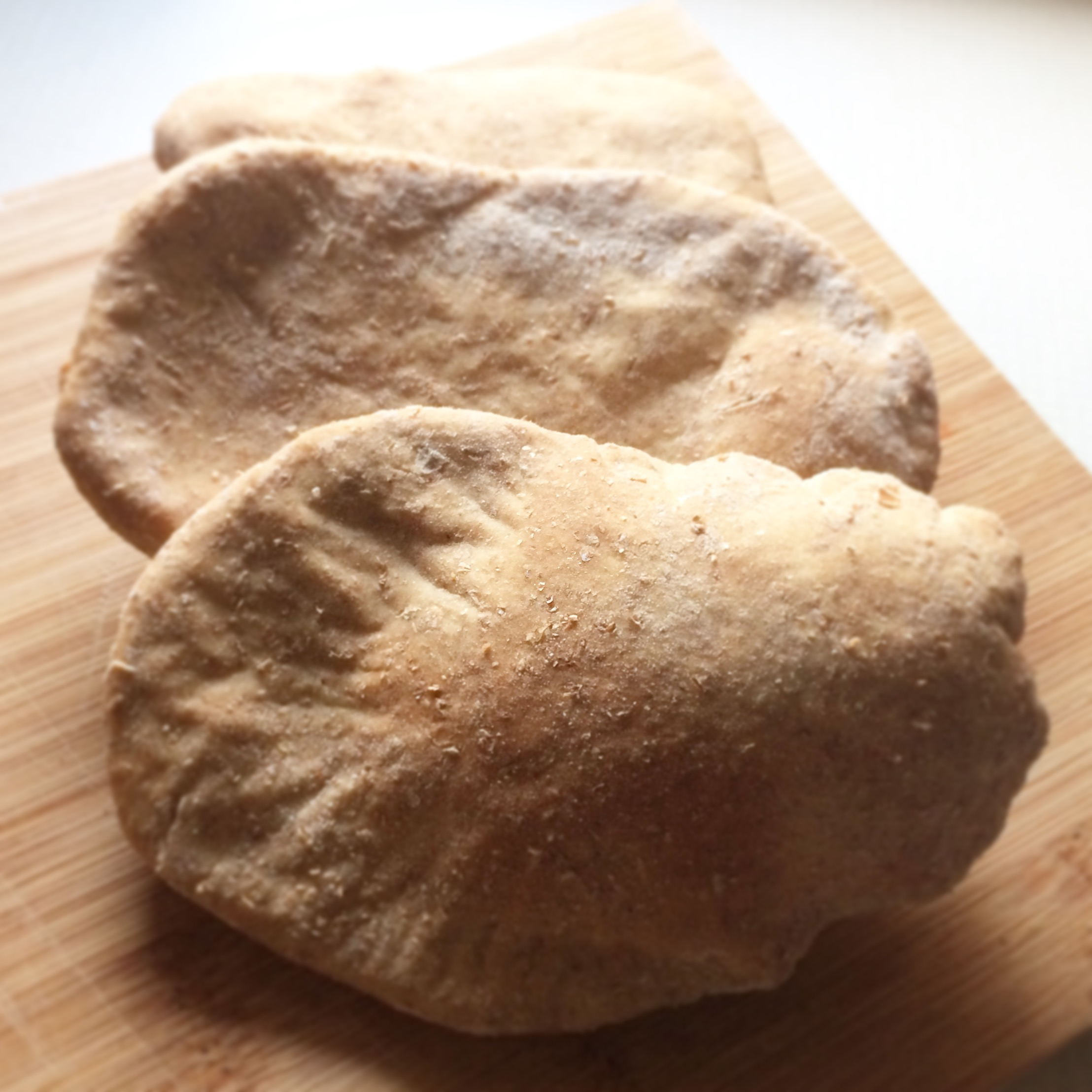 Homemade Wholemeal Pitta Bread Inspired by Sugar Free Farm