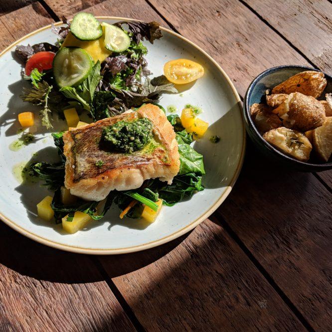 Irish Food at its Best: The Green Barn at Burtown House, Athy