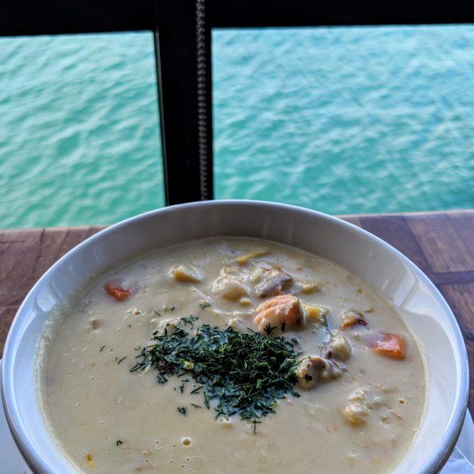 Irish Seafood Chowder Mission