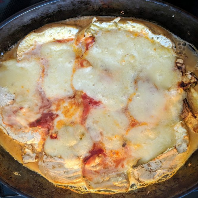 Giant Puffball Mushroom Pizza Base Recipe