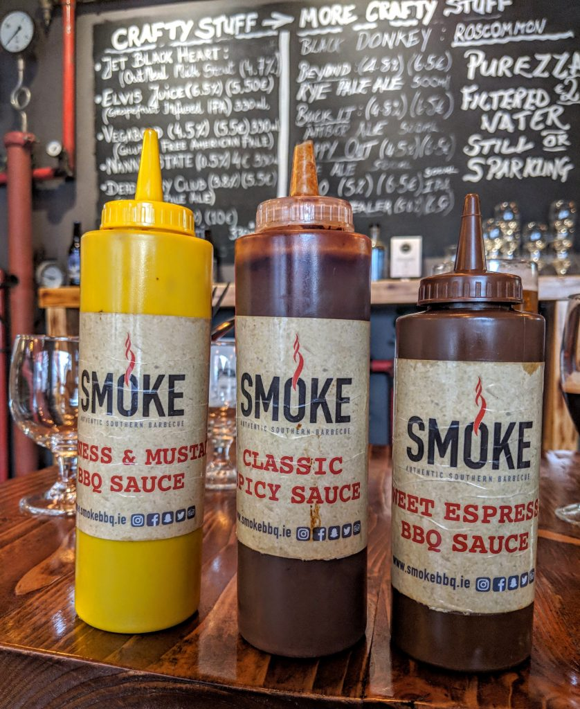 Smoke bbq homemade sauces