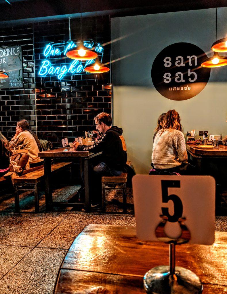 San Sab Thai restaurant Dublin