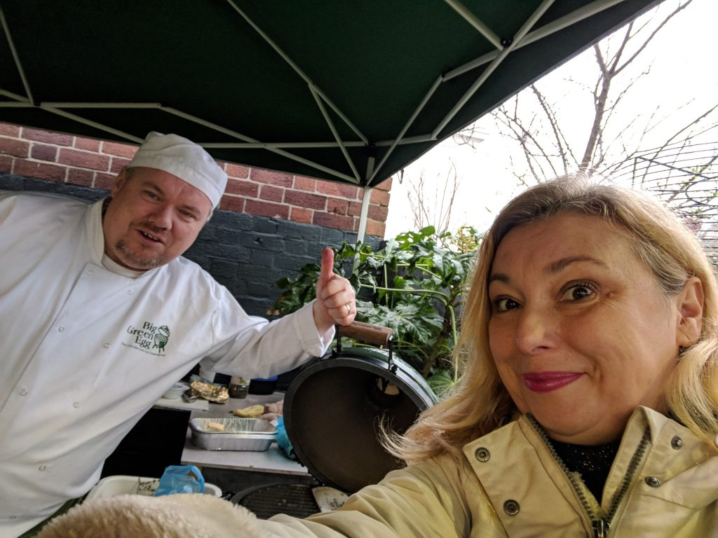 The Druid Chef and Paola Bassanese